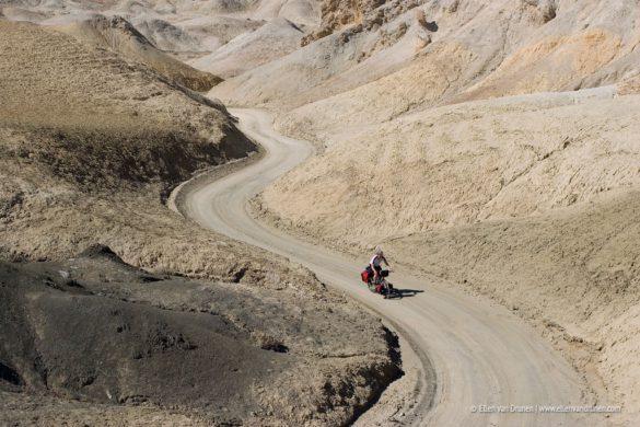 Cycling Twenty Mule Team Canyon Road