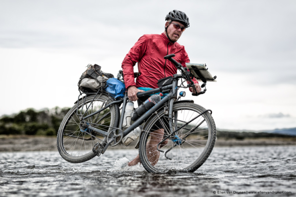 Cycling in Tierra del Fuego