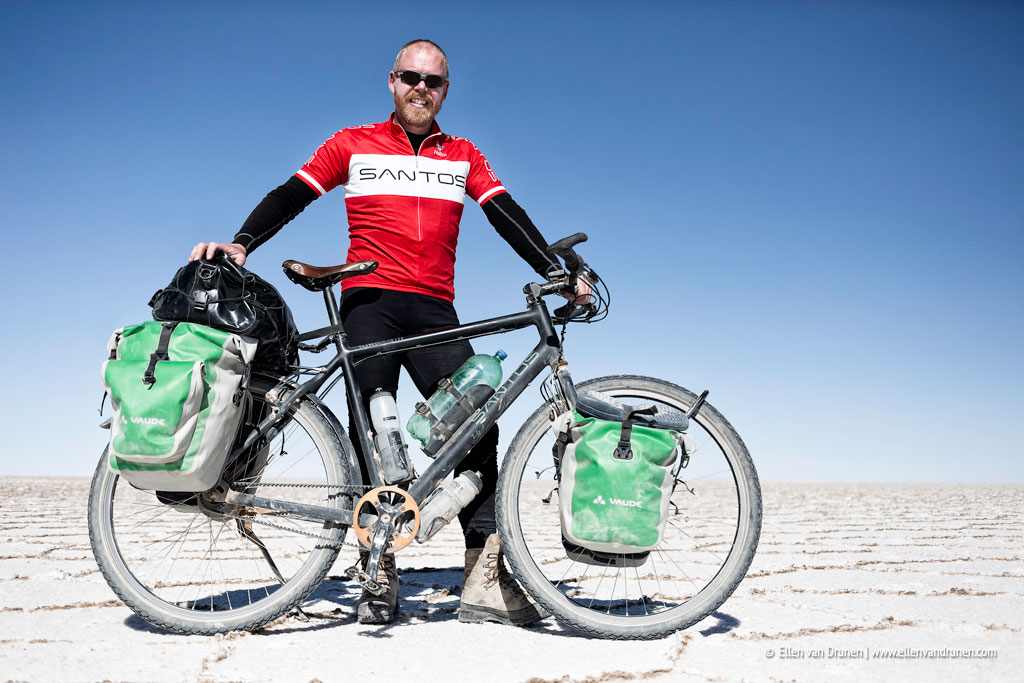 Cycling in Bolivia Salar de Uyuni