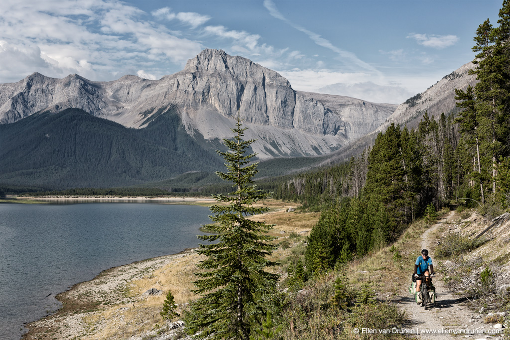 Cycling the GDMBR in Canada