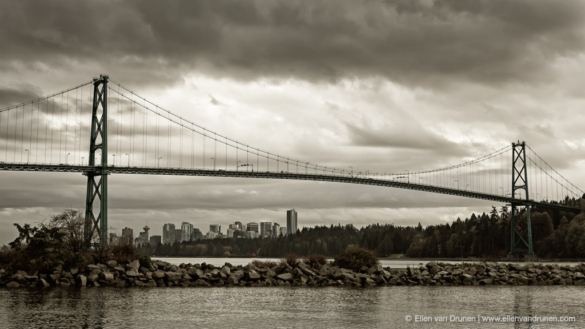 Lionsgate Bridge Vancouver