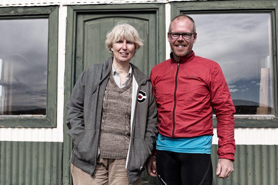 Cycling in Tierra del Fuego