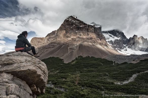 Hiking the W-trek in Torres del Paine