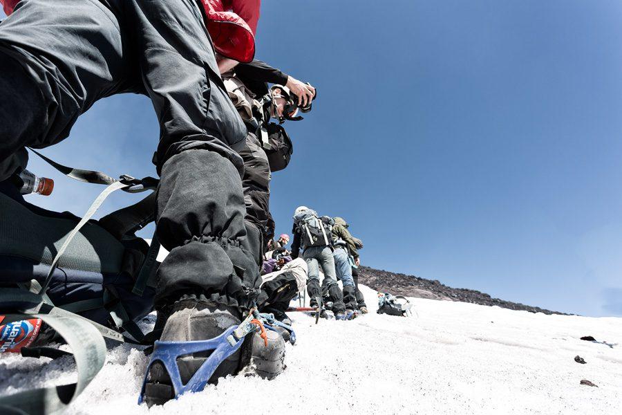 Climbing Volcan Villarrica