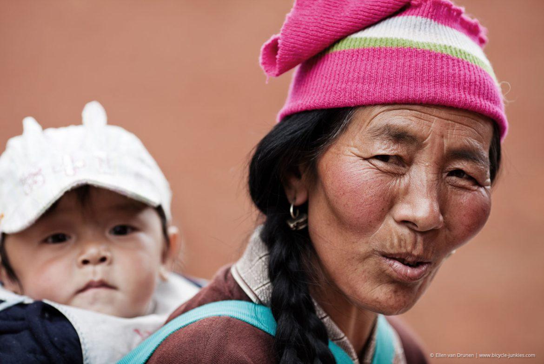Cycling Sichuan China