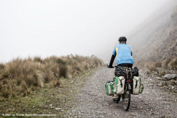 Cycling in Ecuador