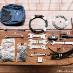 Tools for long distance bicycle tour