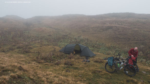 Camp site at 2300 meters
