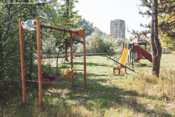 Playgrounds in Borjomi