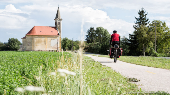 Bicycle touring in Slovenia