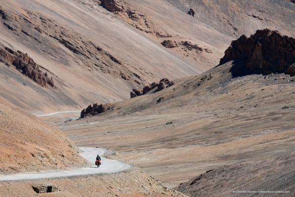 Cycling in Ladakh India