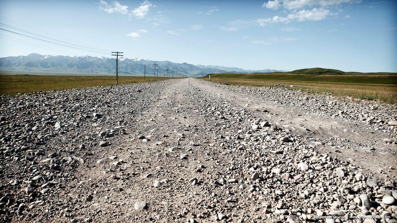Cycling in Kazachstan