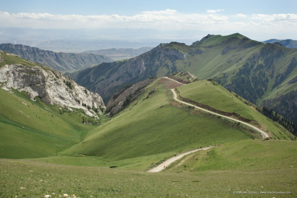 Cycling in Kyrgyzstan