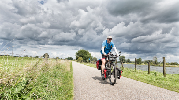 Bicycle touring in the Netherlands