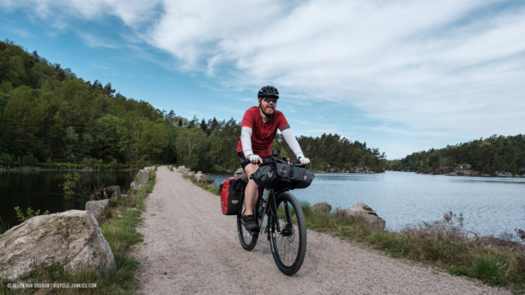 Off road cycling in Norway