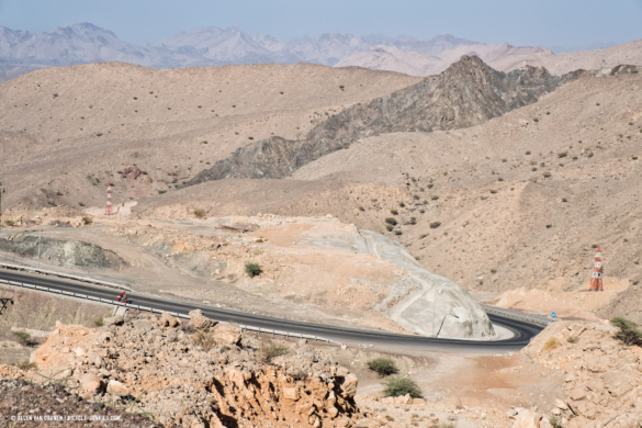 The road to Wadi Bani Khalid
