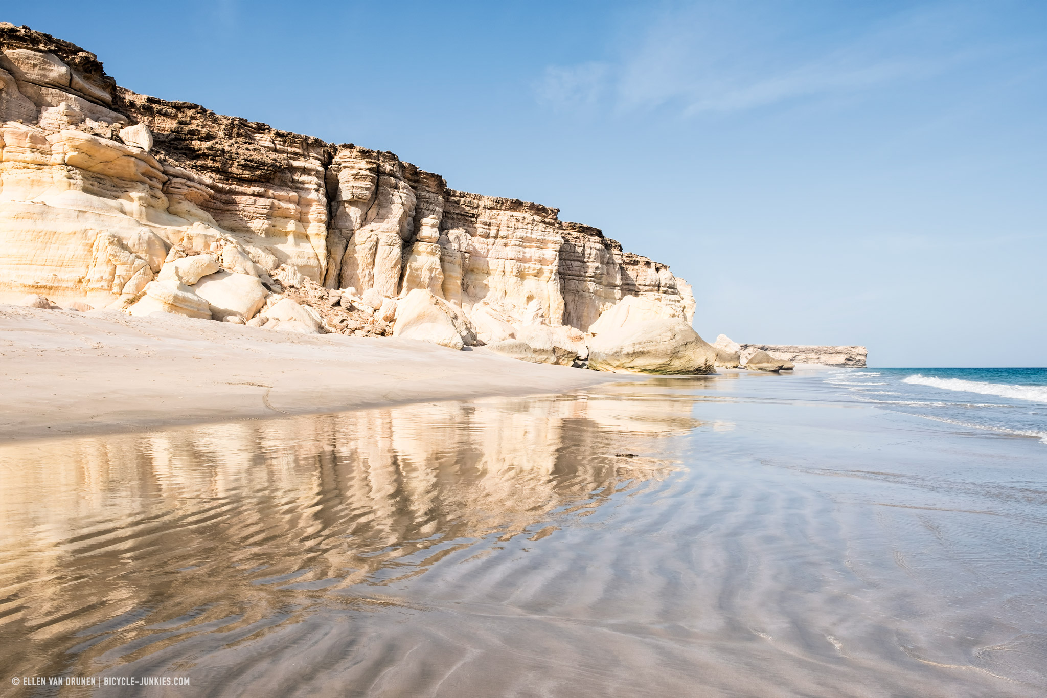 Beach at Ras al Jinz