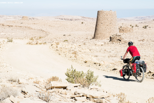 Cycling in Oman