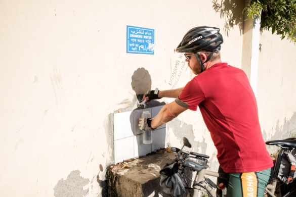 Cycling in Oman: Jebel Shams & Wadi Bani Awf