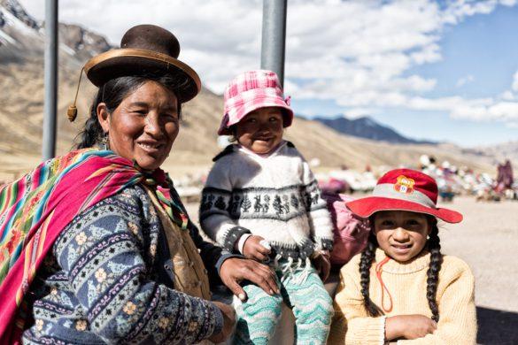 Cycling in Peru
