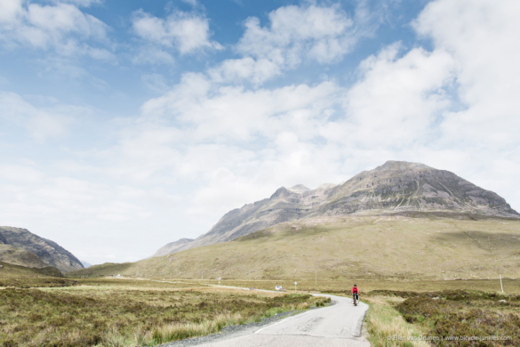 Bicycle touring in Scotland
