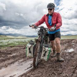 A little bit of mud...